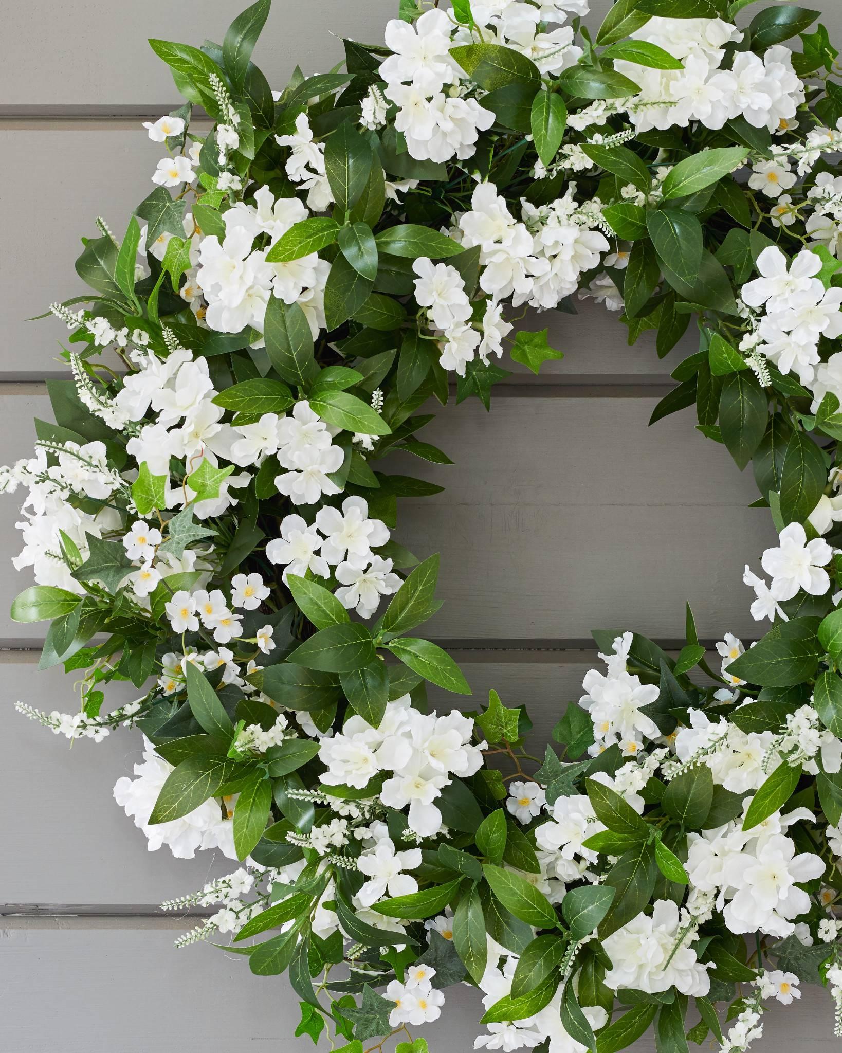 Outdoor White Rhapsody Foliage | Balsam Hill