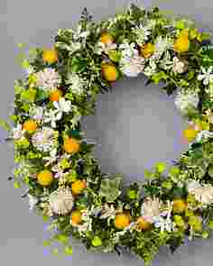 Hello Sunshine Wreath by Balsam Hill