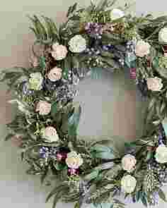 Marseille Meadow Wreath by Balsam Hill SSCR 10