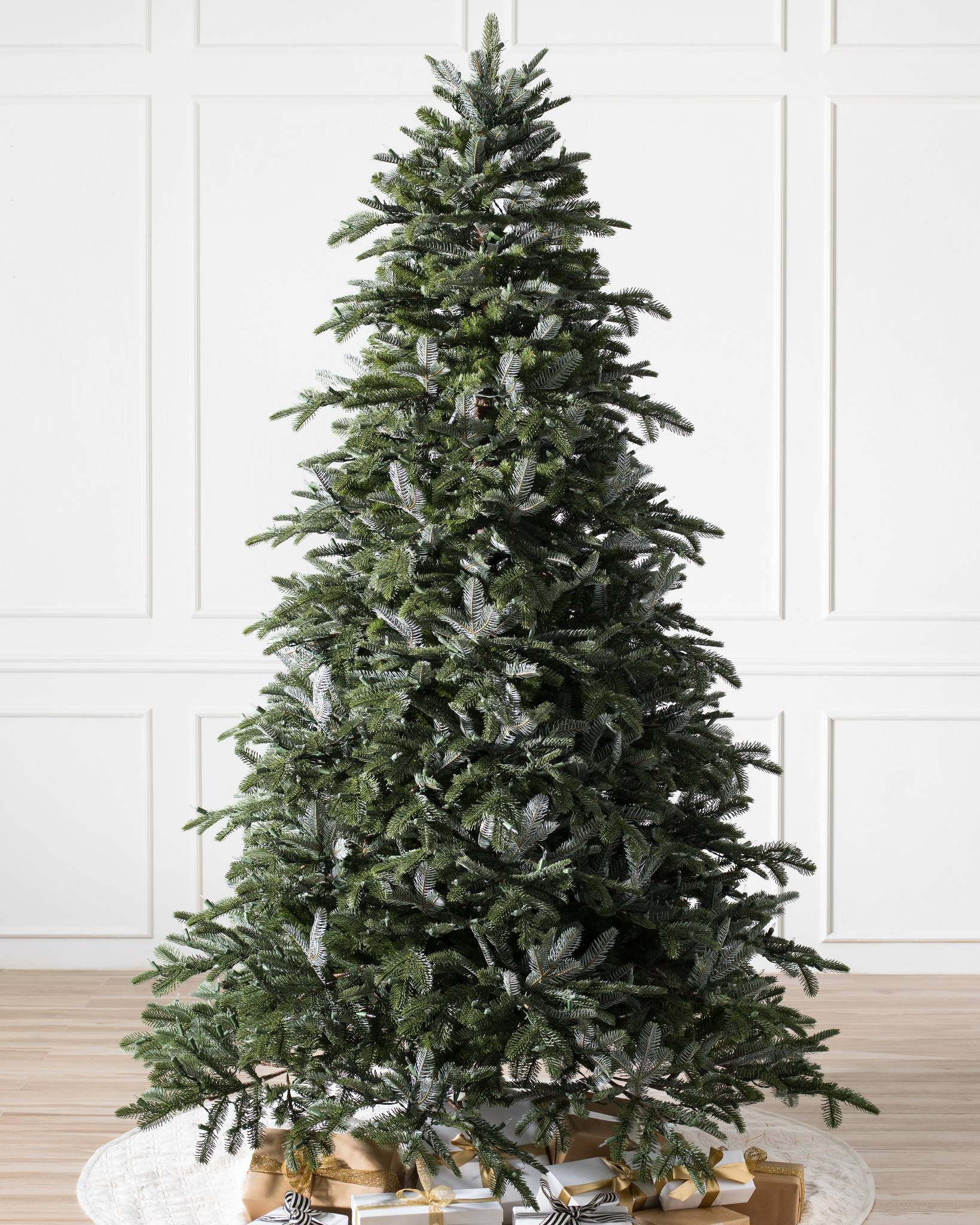 Artificial Christmas Tree Assembly Instructions.Bh Nordmann Fir Artificial Christmas Tree Balsam Hill