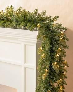 berkshire mountain fir garland main - Green Christmas Garland