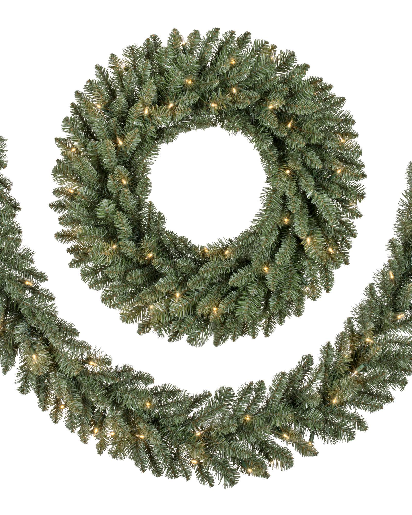 Classic Blue Spruce Wreath, Set of 2 Main