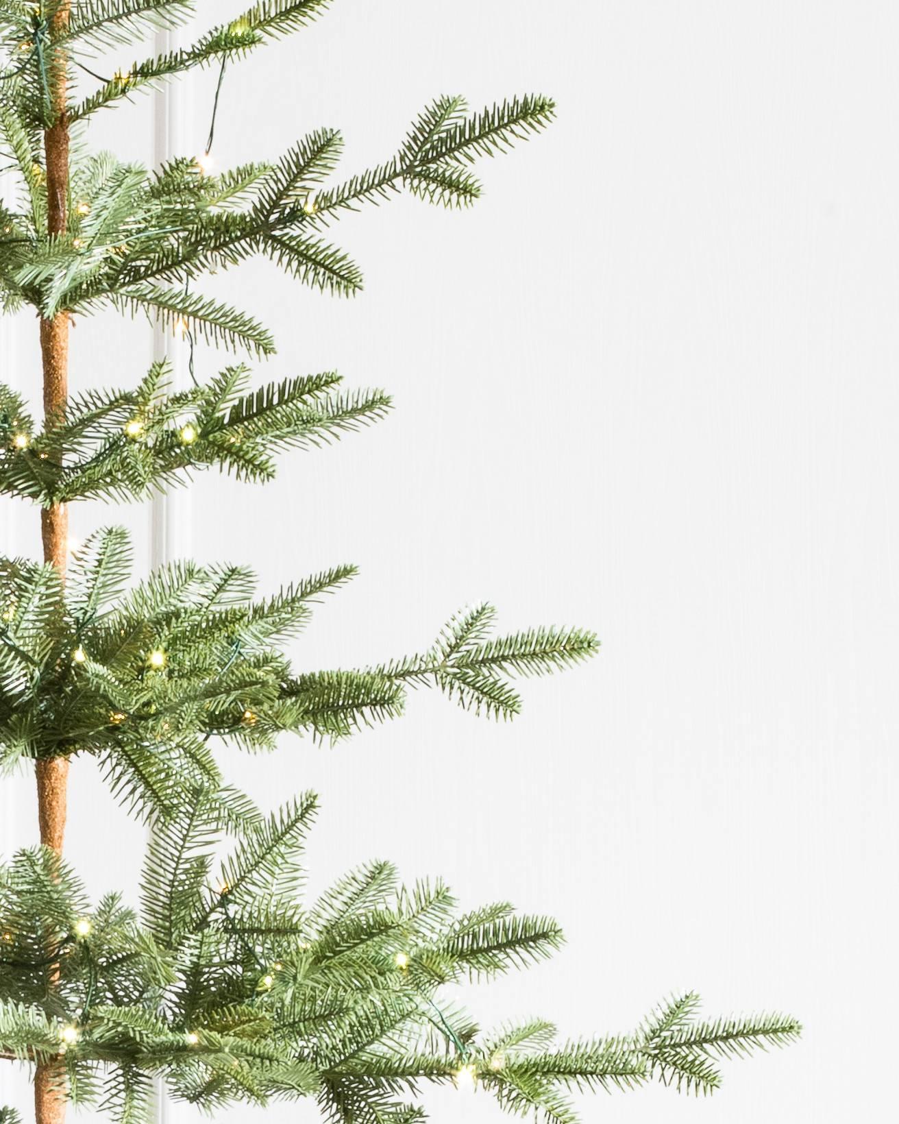 Sparse Christmas Tree Artificial.Alpine Balsam Fir Artificial Christmas Tree Balsam Hill Uk