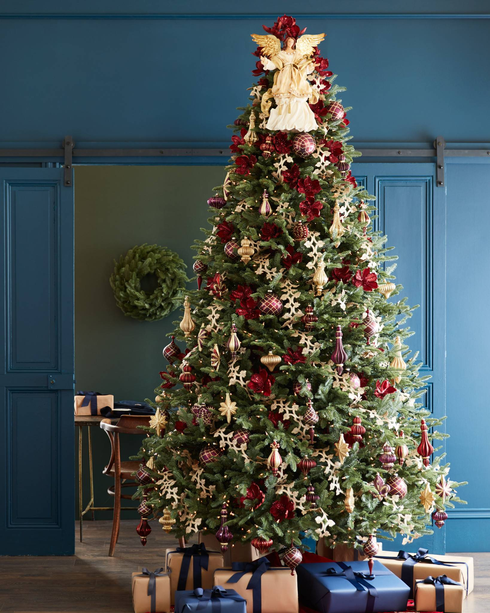 Bh Balsam Fir Tree In Home By Hill