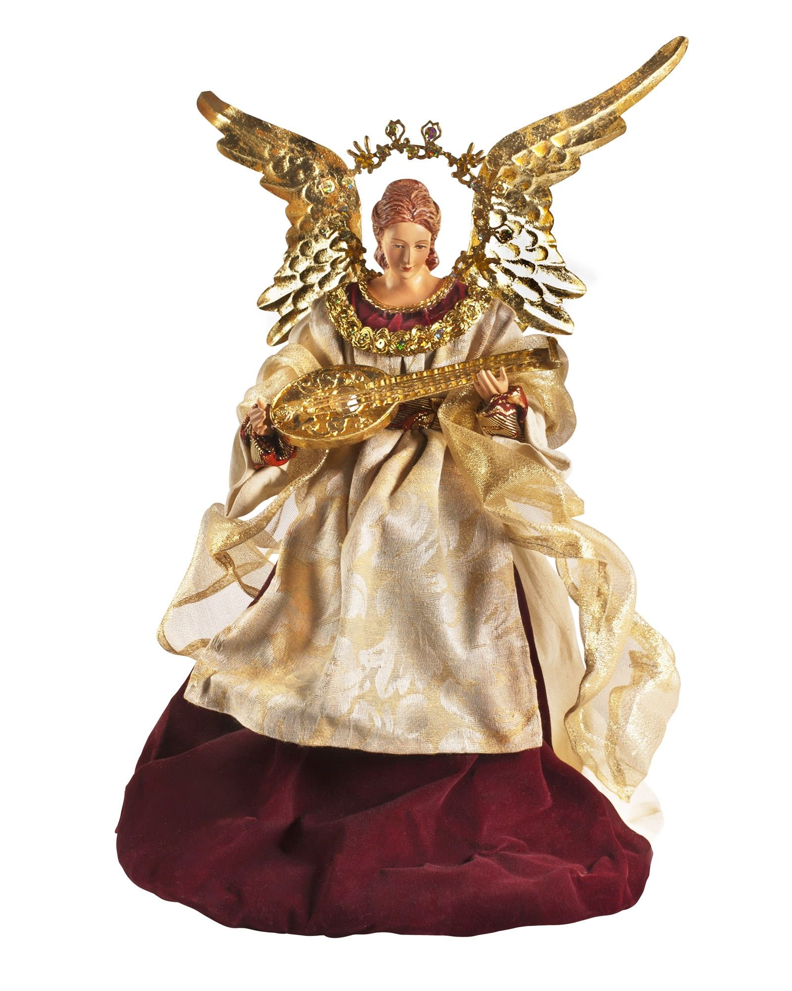 Angel Christmas Tree Topper | Balsam Hill