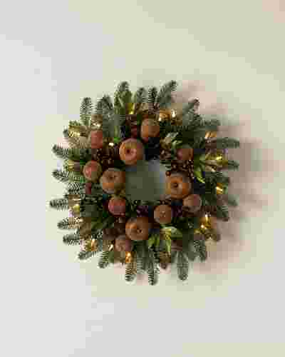 Orchard Harvest Wreath by Balsam Hill SSC 10