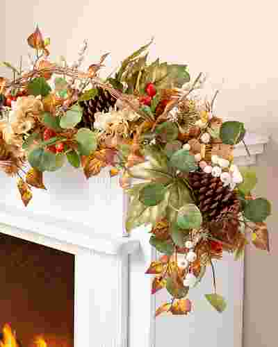 Briarwood Cottage Garland by Balsam Hill SSC