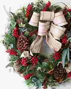 Farmhouse Wreath by Balsam Hill