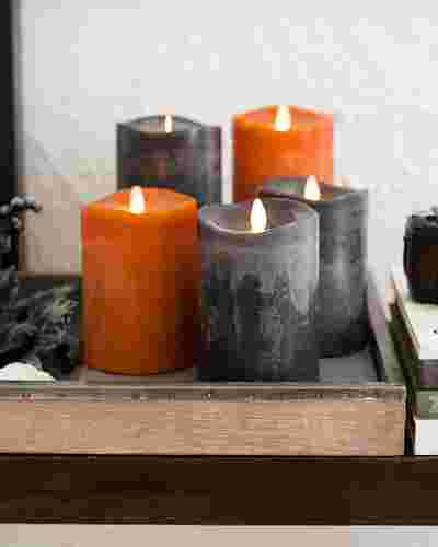 Miracle Flame LED Wax Fall Candle by Balsam Hill