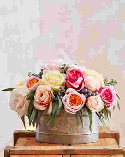 Brittany Rose Arrangement by Balsam Hill