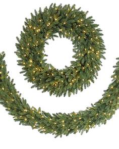 bh fraser fir garland main - How To Decorate Artificial Christmas Wreath