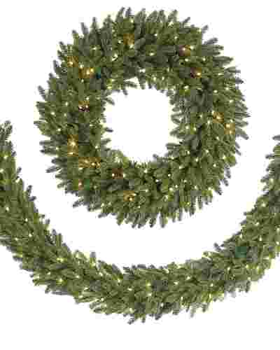 BH Fraser Fir  Garland Main