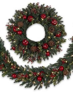 Our Artificial Christmas Wreaths Garlands Foliage Main