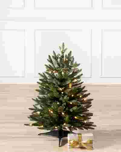 Poconos Pine Mini Tree by Balsam Hill SSC 10
