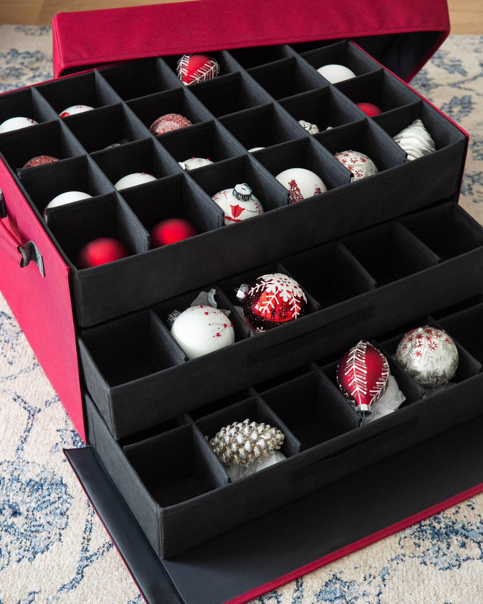 8 Grids Nail Ornament Storage Box Dividers Box Organizer