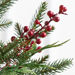 3ft Outdoor Red Berry Evergreen Potted Tree by Balsam Hill