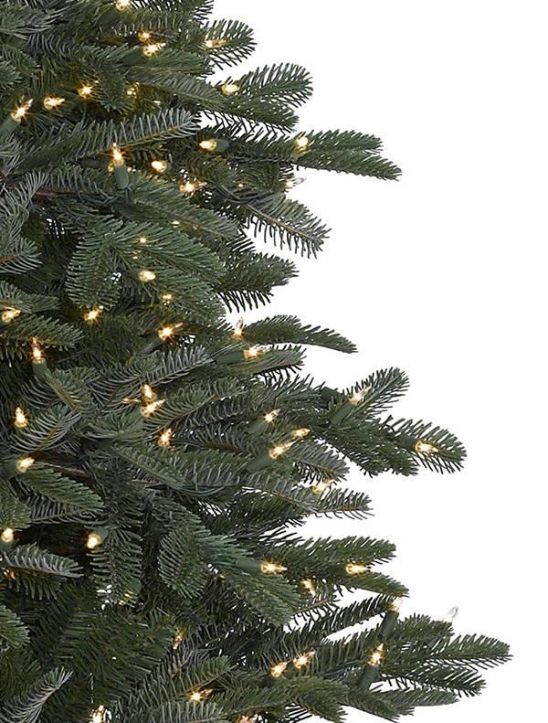 ... BH Nordmann Fir -2 ... - Nordmann Fir Narrow Artificial Christmas Tree Balsam Hill