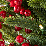 Red Berry Fraser Fir Foliage by Balsam Hill Foliage