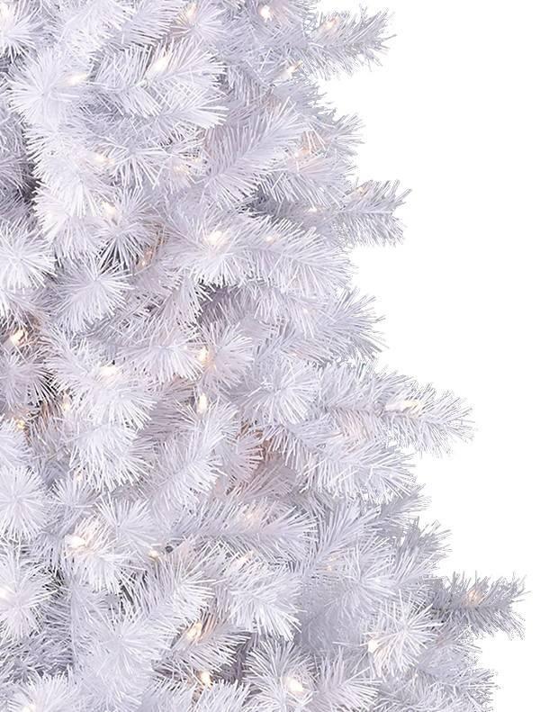 classic white christmas tree alt - 6ft White Christmas Tree