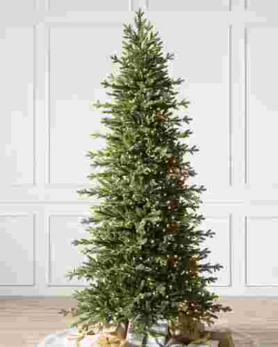 Red Spruce Slim Flip Tree by Balsam Hill SSC 10