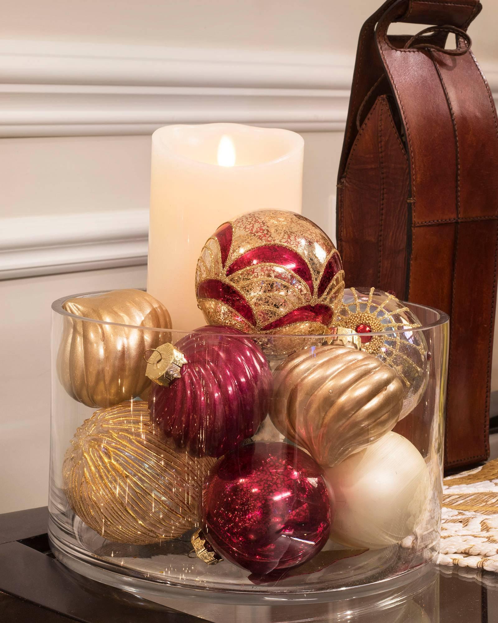 Glass Ornament Set 35 Pieces Alt
