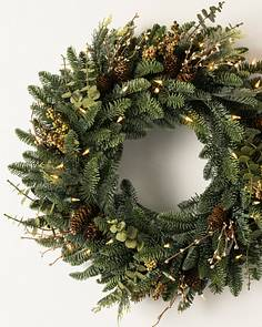18 To 26 Artificial Christmas Wreaths Balsam Hill