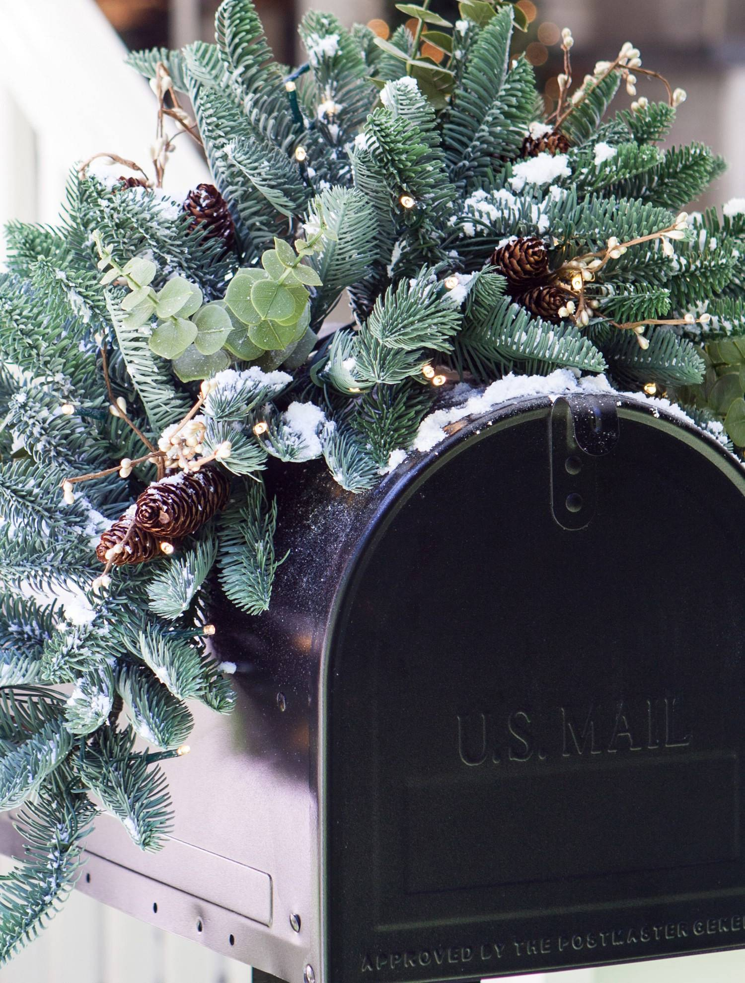 ... Mountain Meadow Mailbox Swag Alt
