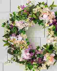 Outdoor Enchanted Garden Wreath by Balsam Hill