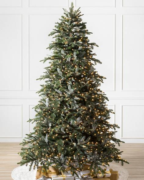 - Pre-lit Artificial Christmas Trees With Clear Lights Balsam Hill