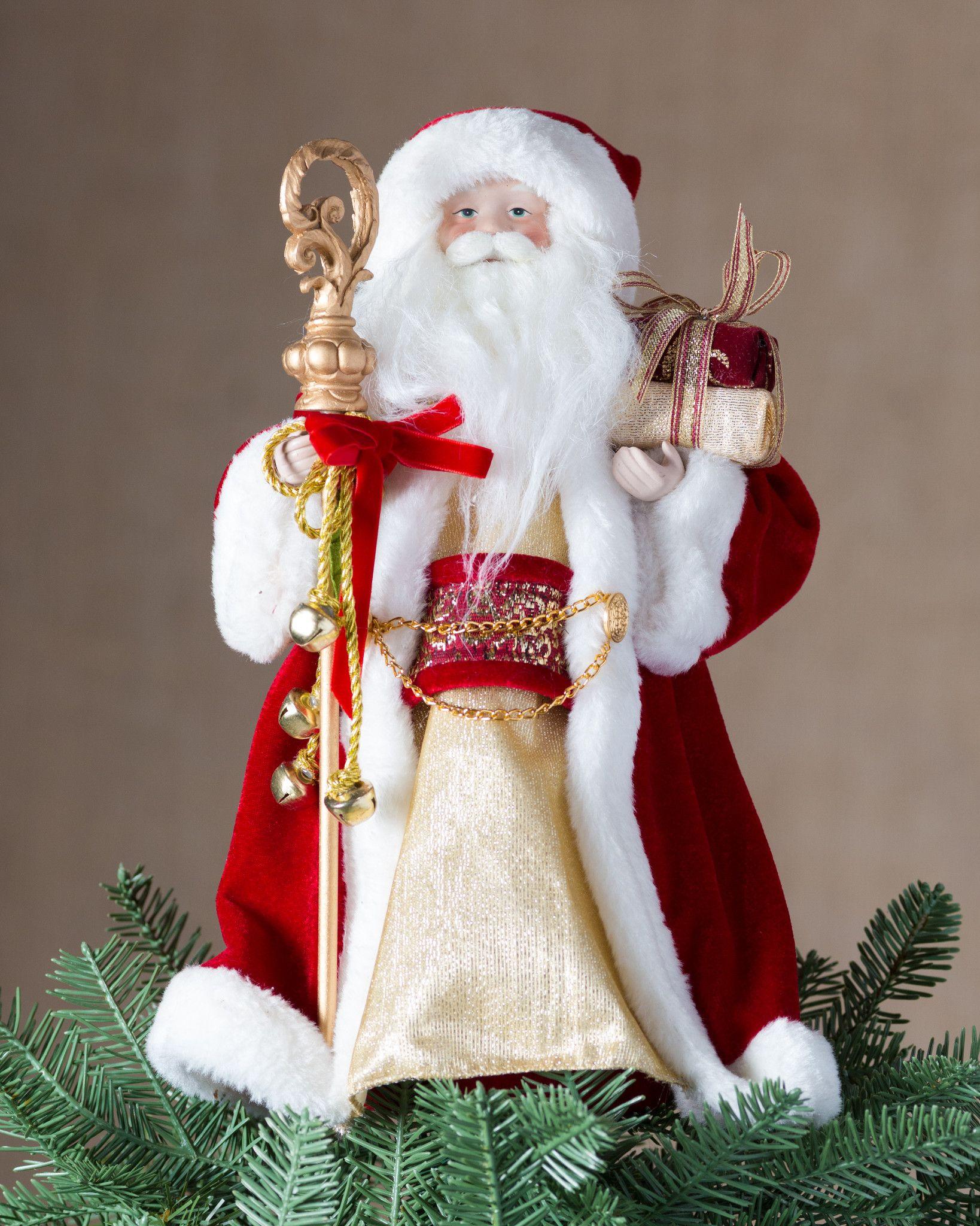 Classic Santa Tree Topper