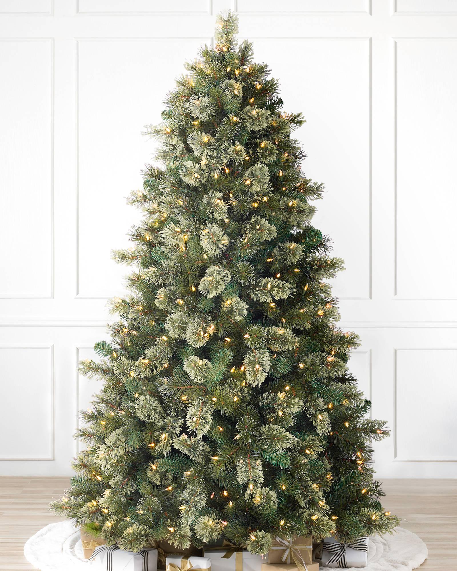 Christmas Tree Artificial.Scotch Hill Pine Artificial Christmas Tree Balsam Hill