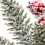 Red Berry Frosted Fraser Fir Foliage by Balsam Hill Foliage