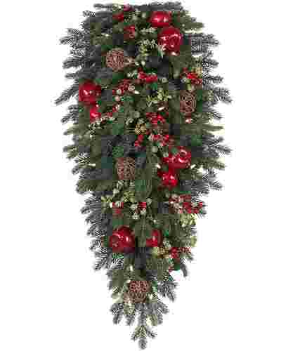 Norway Spruce Holiday Teardrop by Balsam Hill SSC 10