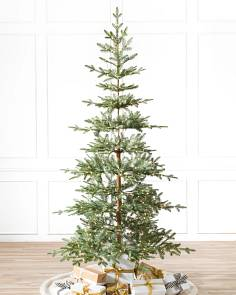 alpine balsam fir artificial christmas tree by balsam hill - Pre Decorated Christmas Trees For Sale