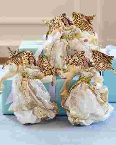 Choir of Angels Ornament Set by Balsam Hill SSC 10