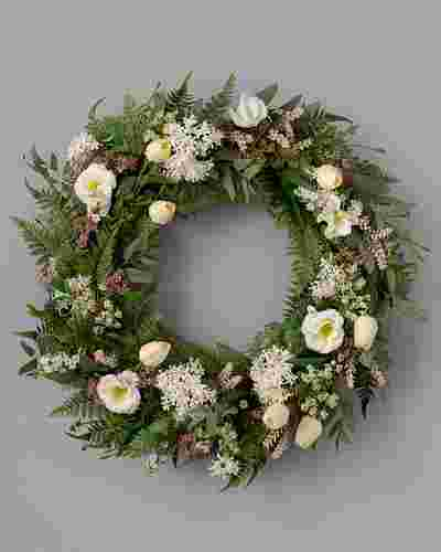 Garden Party Wreath by Balsam Hill SSC