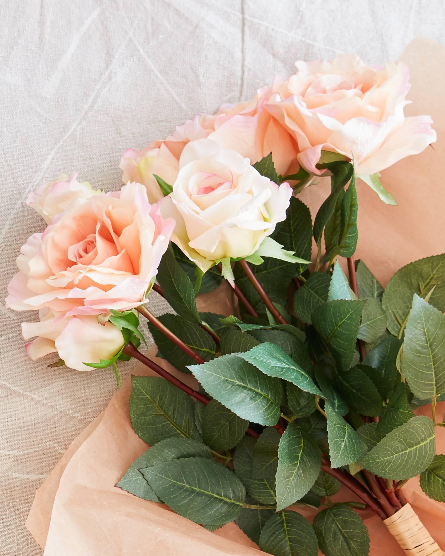 Rose flower stems balsam hill rose flower stems by balsam hill izmirmasajfo Images