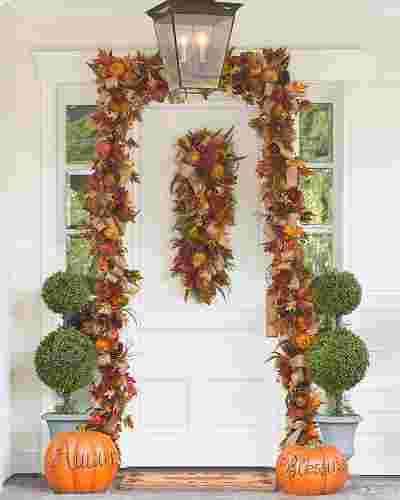 Fall Harvest Garland by Balsam Hill