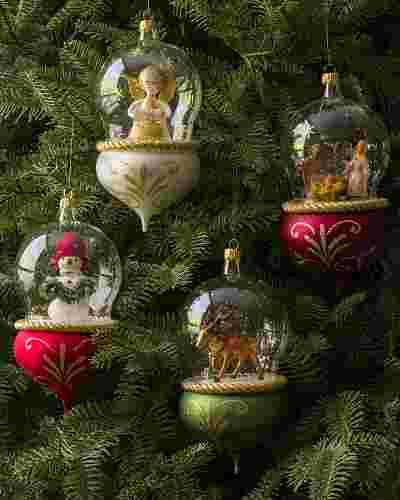 De Carlini Glass Ornament by Balsam Hill