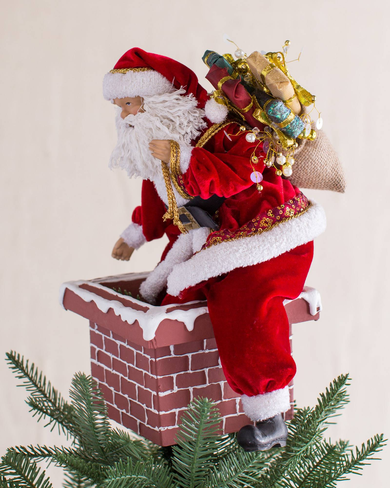 jolly saint nick tree topper alt