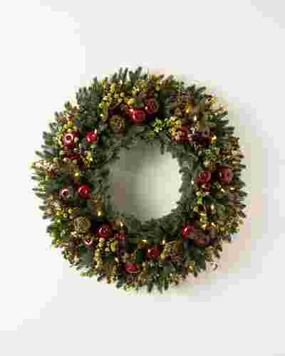 Norway Spruce Holiday Wreath by Balsam Hill
