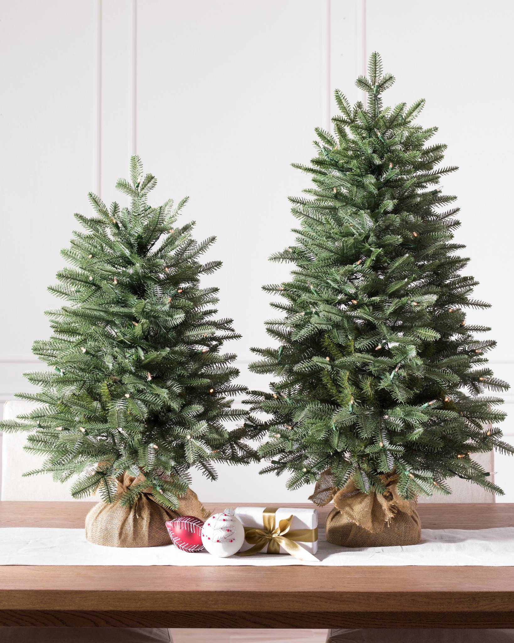 Balsam Fir Tabletop Tree By Hill