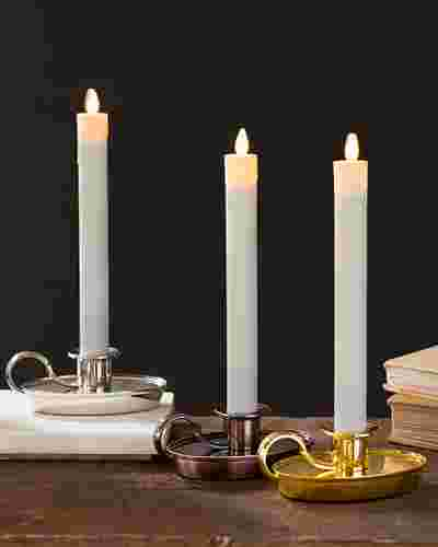 Chamberstick Candle Set of 2 by Balsam Hill