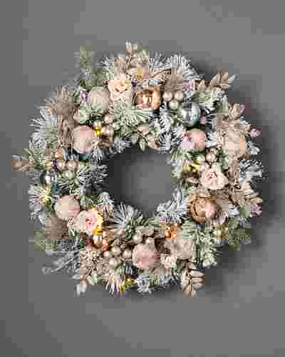 Winter Wishes Wreath by Balsam Hill