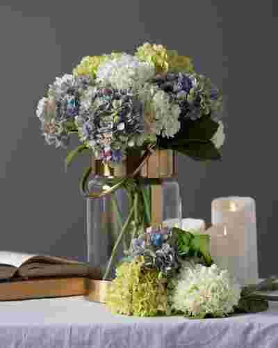 Hydrangea Flower Stems by Balsam Hill Lifestyle 10