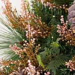 Heather & Pinecone Foliage by Balsam Hill