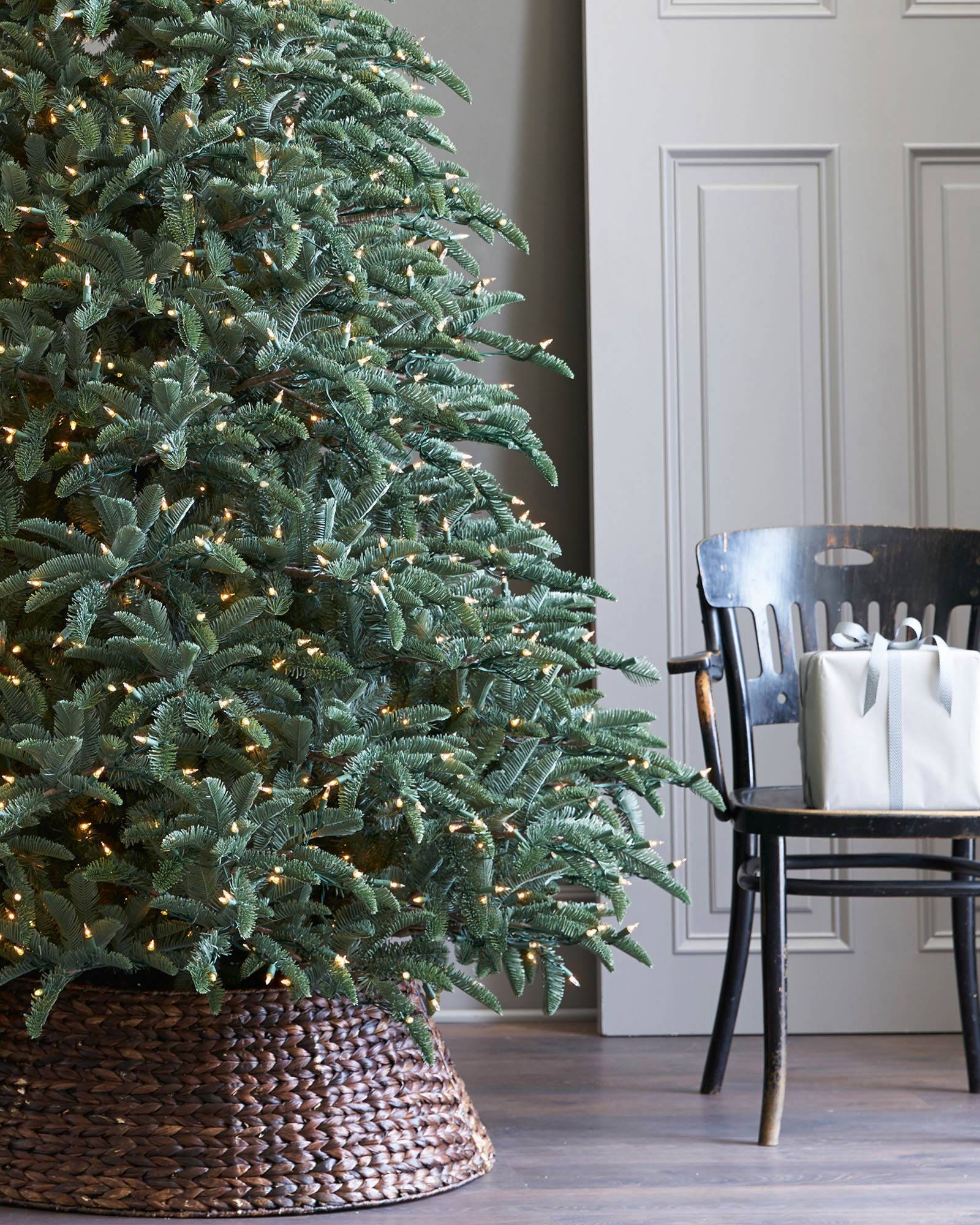 BH Noble Fir Narrow Artificial Christmas Tree | Balsam Hill