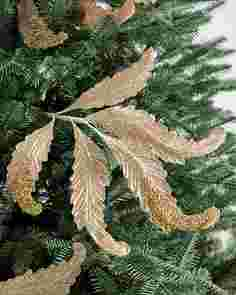 Gilded Gold Acanthus Picks Set of 12 by Balsam Hill