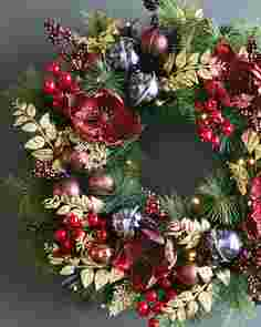Royal Windsor Wreath by Balsam Hill SSCR