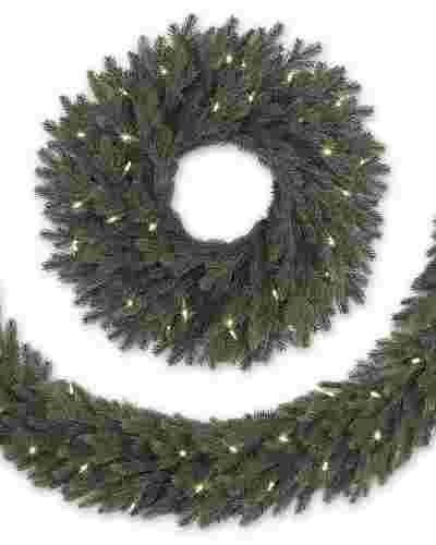 Norway Spruce Wreath and Garland Main